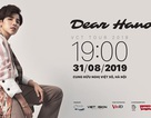 """Nhận quà đặc biệt khi săn vé concert """"Dear Hanoi"""" của Vũ Cát Tường qua VinID"""