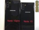 Ảnh thực tế bộ đôi Galaxy Note10 lộ diện, hé lộ thiết kế mới