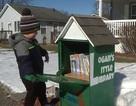 Cậu bé 5 tuổi tự lập thư viện duy nhất trong thị trấn