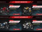 Ducati tại Việt Nam sẽ bán hàng online