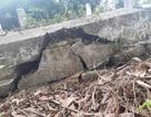 Gần 100 ngôi mộ liệt sĩ bị sụt lún, nứt nẻ: Chạnh lòng niềm tri ân!