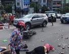 """Vụ xe khách """"quét"""" nhiều phương tiện: 3 nạn nhân bị thương đã qua cơn nguy kịch"""