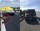 Người đàn ông đi bộ qua cao tốc Hà Nội - Hải Phòng bị xe ô tô tông chết