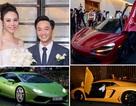 Choáng với dàn siêu xe đến dự đám cưới Cường Đôla và Đàm Thu Trang