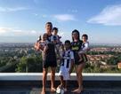 """Du đấu cùng Juventus, C.Ronaldo vẫn """"gửi thương nhớ"""" đến Georgina Rodriguez"""