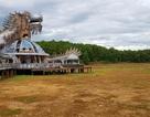 Sửng sốt cảnh công viên nước bỏ hoang ma mị từng lên báo Mỹ bỗng cạn khô trơ cả đáy