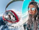 Hình ảnh ngoạn mục từ buồng lái của nữ phi công xinh đẹp 29 tuổi