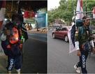 Indonesia: Người đàn ông đi bộ giật lùi 800 km đến gặp tổng thống vì mục đích bảo vệ môi trường