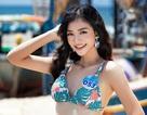 Nụ cười tỏa nắng Á hậu 1 Nguyễn Hà Kiều Loan
