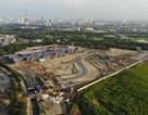 Toàn cảnh đường đua F1 đang hình thành ở Hà Nội