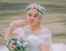 Câu chuyện xúc động phía sau bộ ảnh bà nội 89 tuổi mặc váy cưới