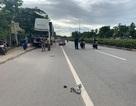 Tông vào xe tải đang dừng sửa chữa bên đường,  nam thanh niên tử vong tại chỗ