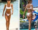 Montana Brown đẹp gợi cảm với bikini trắng