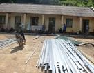 Dựng phòng lắp ghép cho học sinh vùng lũ kịp tựu trường năm học mới