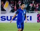 Đội tuyển Thái Lan mất tiền vệ quan trọng ở trận gặp Việt Nam