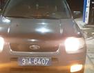Vụ tài xế xe biển xanh tát CSGT: Đã xác định cơ quan sở hữu chiếc xe
