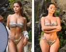 Demi Rose bốc lửa với bikini nhỏ xíu