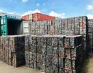 """Doanh nghiệp """"hô biến"""" 5 container phế liệu thành gốm đất nung bị phát hiện"""