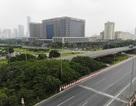 """Nhìn từ trên cao """"rừng tái sinh"""" suốt 24km dọc đại lộ Thăng Long"""