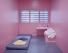 Nhà tù sơn màu hồng giúp tù nhân hạ hỏa, trở nên bớt hung hăng