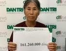 Bạn đọc Dân trí giúp đỡ 2 cụ bà sống trong đói khổ hơn 161 triệu đồng