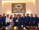 Đại sứ Việt Nam tại Nga tiếp, chúc mừng thành tích của CLB bóng đá Hà Nội