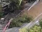Sụp đường hầm tàu điện ngầm ở Trung Quốc