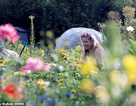 """Lễ cưới """"xanh"""" của cặp đôi dành một năm để tự trồng hoa cho ngày trọng đại"""