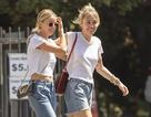 Miley Cyrus ra phố cùng bạn gái tin đồn