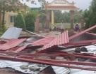 Hà Tĩnh: Trường học bị lốc xoáy quật tốc mái ngay trước ngày khai giảng