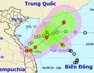 Áp thấp nhiệt đới gần bờ đã vào đất liền Quảng Trị - Thừa Thiên Huế