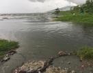 Nước thải đen ngòm lại tràn ra biển Đà Nẵng sau trận mưa lớn