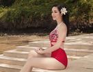 Hoa hậu Giáng My diện bikini khoe vóc dáng gợi cảm ở tuổi U50
