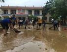 Trường học vùng lũ căng mình khắc phục hậu quả để ổn định giảng dạy