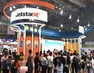 Vé máy bay 11.000 đồng của Jetstar Pacific hút khách tại Hội chợ quốc tế Du lịch