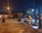 Vợ chủ gara ô tô bị xe cán tử vong tại xưởng