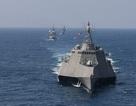 Dàn tàu chiến phô diễn sức mạnh trong diễn tập hàng hải Mỹ - ASEAN