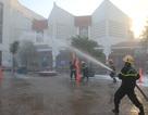 Giả định một đám cháy lớn tại chợ trung tâm TP Đông Hà
