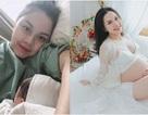Hoa hậu Thân thiện Đậu Hồng Phúc bất ngờ khoe ảnh sinh con lần 2