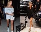 Hailey Baldwin nổi bật tại tuần lễ thời trang New York