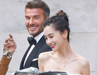 David Beckham làm chú rể của Angelababy