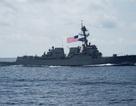 Tàu chiến Mỹ thách thức yêu sách phi lý của Trung Quốc tại Hoàng Sa