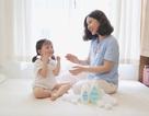 """Thử thách """"dịu nhẹ"""" cho bé, các hot mom vượt qua như thế nào?"""