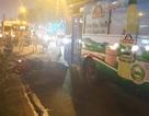 Xe máy va chạm xe buýt, nam thanh niên bị cán chết