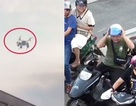 Cảnh sát dùng máy bay không người lái để nhắc người đi xe máy đội mũ bảo hiểm