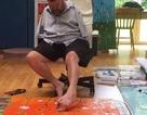 Não của những người vẽ bằng chân cho thấy sự thích nghi kì diệu