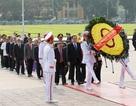 Đoàn đại biểu MTTQ viếng lăng Bác trước phiên khai mạc đại hội toàn quốc