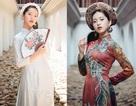 Thiếu nữ Hà thành thích diện áo dài đi du lịch khắp chốn
