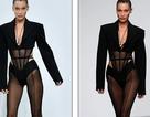 Bella Hadid khoe chân dài trên sàn diễn thời trang