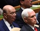 Bộ trưởng Mỹ ngủ gật khi ông Trump phát biểu tại Liên Hợp Quốc